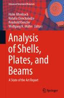 Analysis of Shells  Plates  and Beams