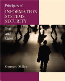 Principles of Information Systems Security Book