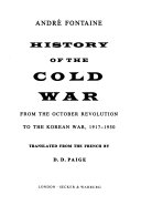 History of the Cold War Book