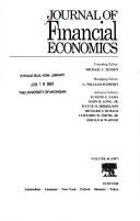 Journal of Financial Economics