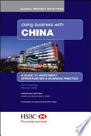 Doing Business with China Book