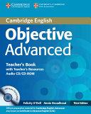 Objective Advanced Teacher s Book with Teacher s Resources Audio CD CD ROM