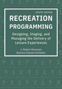 Cover of Recreation Programming