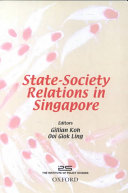 State society Relations in Singapore