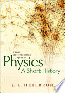 Physics A Short History From Quintessence To Quarks Book PDF