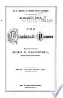 The Cincinnati Pioneer