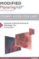 Essentials of Human Anatomy & Physiology Modified Masteringa&p Access Code