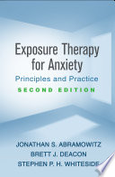 Exposure Therapy for Anxiety  Second Edition Book