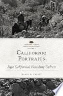 Californio Portraits