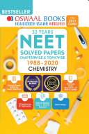 Oswaal NEET Question Bank Chapterwise   Topicwise Chemistry Book  For 2021 Exam