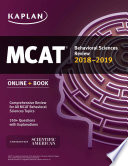 MCAT Behavioral Sciences Review 2018 2019