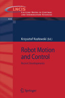 Robot Motion and Control [Pdf/ePub] eBook