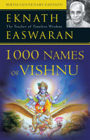 1000 Names of Vishnu Book PDF