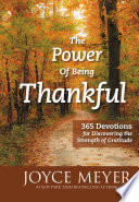 The Power Of Being Thankful Book PDF