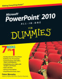 PowerPoint 2010 All in One For Dummies