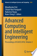 Advanced Computing and Intelligent Engineering