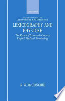 Lexicography and Physicke