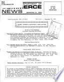 Recent Commerce Department Publications