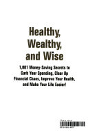 Healthy, Wealthy and Wise ebook
