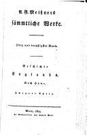 Geschichte Englands ; Nach Hume ; Zweyter Theil