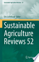 Sustainable Agriculture Reviews 52