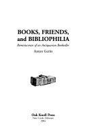 Books, Friends, and Bibliophilia
