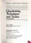 Questioning Techniques and Tactics