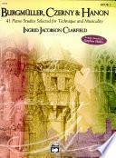 Burgmuller  Czerny   Hanon Book