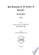 The Publications of the Harleian Society