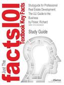 Studyguide for Professional Real Estate Development Book PDF