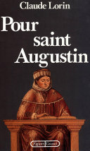 Pdf Pour saint Augustin Telecharger