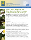 Flower Flies  Syrphidae  and Other Biological Control Agents for Aphids