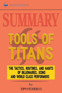 Summary of Tools of Titans Book