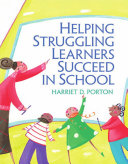 Helping Struggling Learners Succeed in School