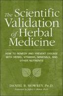 Scientific Validation Of Herbal Medicine Book