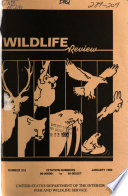 Wildlife Review Book