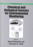Chemical and Biological Sensors for Environmental Monitoring
