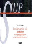 Une introduction à la médiation