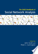 The SAGE Handbook of Social Network Analysis Book