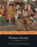 Western Society  A Brief History  Volume 1