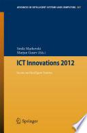 ICT Innovations 2012