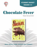 Chocolate Fever Novel Units Student Packet Book