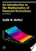 An Introduction to the Mathematics of Financial Derivatives Book