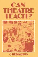 Can Theatre Teach