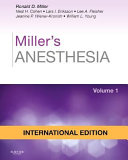 Cover image of Miller's anesthesia