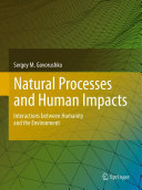 Natural Processes and Human Impacts ebook