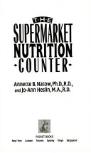 The Supermarket Nutrition Counter