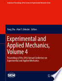 Experimental and Applied Mechanics  Volume 4 Book