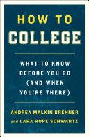 How to College Pdf/ePub eBook