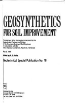 Geosynthetics For Soil Improvement Book PDF